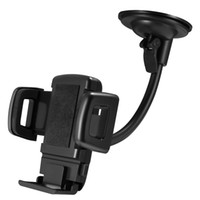 Wholesale dash mount car phone holder for sale - Group buy Adjustable Car Mount Phone Holder Dash Windshield Suction Mount Cellphone Holder for iPhone Samsung Moto Huawei Smart Cellphones with Box