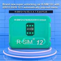 iphone sim kartı verizon toptan satış-RSIM 12 + Yeni 2019 R-SIM Nano Kilidini Kart iPhone XS, X, 8,7, 6 Ve Artı iOS 12 VS RSIM 14 Uyar