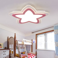 Wholesale ship acrylic painting for sale - Group buy Kids room ceiling lamp For children room Bedroom luminaria led modern Acrylic ceiling lights for children room