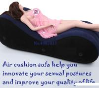 ingrosso sedie sessuali-All'ingrosso-portatile sesso amaca sesso sede cuscino amore divano sedia gonfiabile matrimoniali postura sessuale Deeper supporto letto per le coppie di viaggio