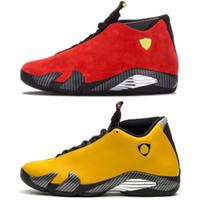 zapatos de caramelos rojos al por mayor-Nike Air Jordan 14 Retro Zapatillas de Baloncesto Clase de 2003 Hyper Royal Italia Azul Negro Cat Altitude Zapatillas de Deporte Baratas Zapatillas Talla 41-47