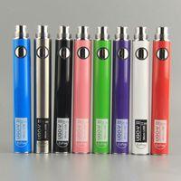 kalın tüp kalemi toptan satış-510 Konu Vape Kartuşları Vape Kalem Pil için Orijinal UGO V II 2 650 900 mAh Mikro USB Geçidi vs EVOD eGo T e c vaporizers