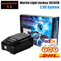 controlador dmx512 al por mayor-TIPTOP 3PIN USB 1024 Martin Lightjockey Controlador de luz de escenario LED USB Martin light jockey Controlador USB DMX512 Control de luz de escenario