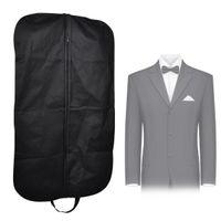takım elbise giysi kat giysi çantası toptan satış-Yeni Coat Giyim Konfeksiyon Suit Kapak Çanta Toz Geçirmez Askı Depolama Koruyucu Seyahat Organizatörler Organizatör Vaka Ev Organizatörleri