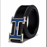 cinturones de hombre de marca al por mayor-2019hot Hermès Brand Designer cinturones Mujer Hombre Cinturón Cuero lujo
