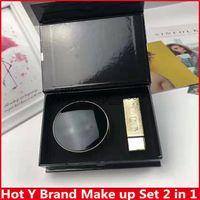 ingrosso bb kit-Hot Famous Y Brand Cushion Kit trucco per BB e Rossetti, 2 in 1 Make up Con alta qualità