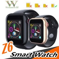 новейшая интеллектуальная камера для часов оптовых-Новейшие смарт-часы Z6 для iOS-Iapple Smart Watch Bluetooth-часы с камерой и поддержкой SIM-карты TF для смартфона Android PK DZ09 GT08 Z60