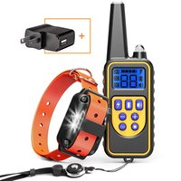 Wholesale shocking dog collars for sale - Group buy Dog Training Collar with Remote Waterproof Dog Shock Collar ft Control Range Rechargeable Shock Collar for Medium and Large Dogs with