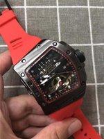 reloj de mano fina al por mayor-3A 2019 Nuevo Mens Cuarzo multifunción Hoja de trabajo de mano completa 45 MM Dial grande de acero fino de alta calidad para hombre Relojes de estilo único