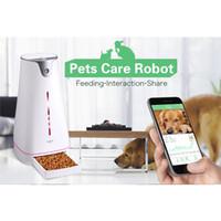 ingrosso prendersi cura dei cani-Alimentatori Smart Pet Dog Feeder Controllo remoto Alimentazione Gestione della salute Cura degli animali Alimentazione robot Alimentazione sanitaria Gestione degli alimentatori Smart Dog
