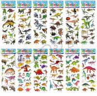 Wholesale 3d dinosaur wall for sale - Group buy Cartoon Sticker lovely Wall Stickers Nursery Children Kids Room Bedroom Dinosaur Stickers Wallpaper paste Puffy Sticker I515