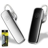 auriculares manos libres al por mayor-M165 auriculares estéreo bluetooth auriculares auriculares mini V4.0 bluetooth inalámbrico manos libres universal para todos los teléfonos para iphone 9 iphone X XS plus
