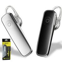 ingrosso bluetooth earphones iphone plus-M165 cuffia stereo bluetooth cuffia auricolare mini V4.0 senza fili bluetooth handfree universale per tutti i telefoni per iphone 9 iphone X XS plus