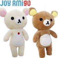 Wholesale rilakkuma stuff toy resale online - Lovely Japanese San x Rilakkuma KORILAKKUMA Teddy Bear White Plush Bear Stuffed Toy Soft Animal Gift Kid From Mini to Jumbo Size