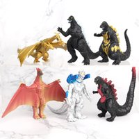 Wholesale dinosaur gifts for 6 year old resale online - Dinosaur Action Figures Styles New Cartoon movie Monster Action Figures toys christmas Gift For Kids cm C1740