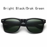gafas de sol de colores fríos al por mayor-Moda gafas de sol Hombres Mujeres Gafas de sol Diseñador de la marca Justin Polarized Gafas de sol Diseño fresco Gafas masculinas con estuches Sunglass 11 colores