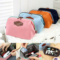 Wholesale brand cosmetic case resale online - 2019 Fashion Brand New Hot Beauty Travel Cosmetic Bag Women Multifunction Makeup Pouch Toiletry Case New