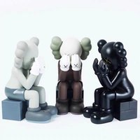 28CM Originalfake Companion doll Sitting position Figure With Original Box Action Figure model decorations gift
