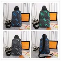 4c1e3c20aa9 Wholesale damier graphite bag online - LoVuitto designer Avenue Sling Bag  Damier Graphite Pixel Size x31x10cm