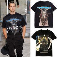 nette männer t-shirt großhandel-2019 Design T Shirt Mann Druck Grafik Baumwolle Freizeit schöne Qualität Mode Kurzarm T-Shirt Herren