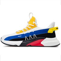 ingrosso illuminare gli uomini di scarpe da basket-Nuovi uomini scarpe da corsa Lac-up peso leggero scarpe da uomo respirabile comodo basket piedi Scarpe da tennis