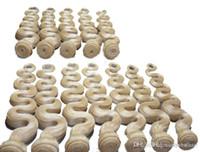 tissage de la marque péruvienne achat en gros de-Elibess Brand - 3 Bundles 300Grams Couleur 613 Extensions de Cheveux Humains Blonde Trame de Corps Blond Trames Péruvienne Remy Hair Weave, Livraison Gratuite