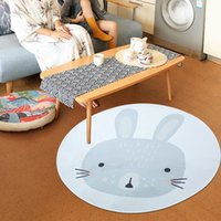 Wholesale crawl pad toy resale online - Cartoon Animals Baby Play Mats Pad Toddler Kids Crawling Blanket Round Carpet Rug Toys Mat For Gear Baby Safety Gear Children Room Decor P