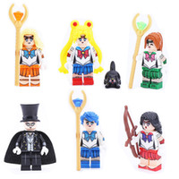 Wholesale popular toys for girls for sale - Group buy Popular Kitoz Sailor Moon Jupiter Mars Venus Chiba Mercury Mamoru Mini Toy for Girl JY106