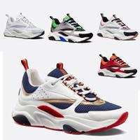 hombre de metro al por mayor-Caliente nuevo de alta calidad B22 3 metros de material de los hombres de lona de piel de becerro zapatos casuales zapatos de mujer de diseño francés marca de zapatos casuales