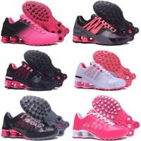 ingrosso scarpe da jogging a marchio di sconto-scarpe shox economici consegnare NZ R4 809 donne scarpe da corsa marca sneakers da basket sport da jogging formatori migliore vendita sconto negozio online