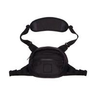 bolsas de cintura pequena para homens venda por atacado-19ss pedra unisex fanny pack moda cintura homens lona hip-hop belt bag homens messengers bags 18ss pequeno saco de ombro bumbag