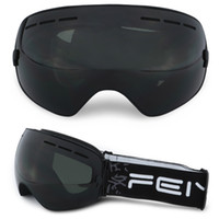Wholesale skiing goggles glasses for sale - Group buy ROBESBON Ski Goggles Double Layer Antifogging Snowboard Shortsighted Glass Outdoor Prevention Snow Blindness Ski Goggles