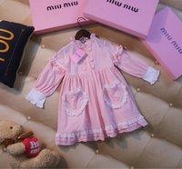 adrette abendkleider großhandel-Mädchen Kinder-Designer-Kleidung 2019 Herbst neue Prinzessin Kleid Mädchen kleine Fee ausländische High-End-Kinderabendkleid Kleid