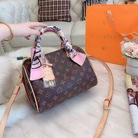 schal geldbörsen groihandel-Louis Vuitton Designer Luxus-Handtaschen Geldbörsen Frauen klassische Marke Art und Weise sackt heißen Verkauf beliebtestene Handtasche kommt mit Schale