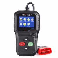 lector de códigos automáticos al por mayor-Lector de código de escáner de diagnóstico automático KONNWEI KW680 OBD2 / EOBD / CAN