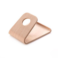 Wholesale sells tablets for sale - Group buy 2019 Best Selling Real Curved Wooden Mobile Phone Holder For iPhone For Samsung For Tablet PC