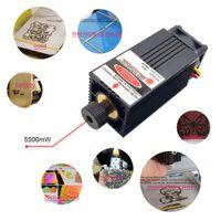 ingrosso macchine utensili laser-5500mW 450nm Testa laser a luce blu-viola per utensili da intaglio per incisore macchina per incisione fai da te