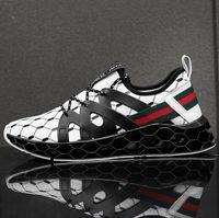 europa zapatos deportivos al por mayor-2019 Las zapatillas de deporte más nuevas y más nuevas de Blade Designer, Europa y América. Zapatos de moda para hombres. Amortiguadores de malla antideslizante.
