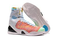 продажа плетеной обуви оптовых-Дешевые Продажи Кобе 9 Высокий Плетение BHM / Пасха / Рождество Баскетбол Обувь для Высокого качества Мужские KB 9s Мужчины кроссовки Спортивные Кроссовки Размер 40-46 V8