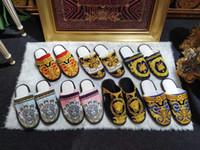 nuevas zapatillas para el invierno al por mayor-Lujo clásico diseñador de impresión zapatillas para hombres mujeres otoño invierno zapatillas de algodón cómodo recién llegado multicolor opcional zapatos caseros