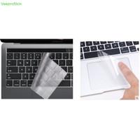 dizüstü film koruyucuları toptan satış-2in1 Touchpad Koruyucu + Yüksek Temizle TPU Klavye Kapak Filmi Macbook Pro 13 için Dokunmatik Bar ile 2016.10 sürüm A1706