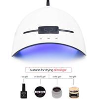 temporizador usb al por mayor-Lámpara UV de 36W Secador de uñas para todos los tipos Gel 12 LED Lámpara UV para la máquina de uñas Curado 30s 60s 90s Temporizador USB portátil UV Nail lámparas RRA853