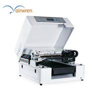 ingrosso stampa acrilica uv-Una stampante UV a base piatta piccola AR-LED Mini4 A3 LED per metallo in vetro acrilico legno