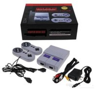 Wholesale ship arcade games for sale - Group buy 10PCS Mini Game Console can store Video Handheld for SNES and nes games consoles with retail box hot sale SUP400 GAME BOX