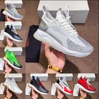 ingrosso allenatore scarpe-2019 nuova catena di reazione casuale di alta qualità casual moda scarpe casual allenatore luce link in rilievo suola e sacchetto della polvere