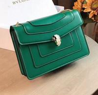 Wholesale head purse resale online - with box Designer Luxury Handbags Purses of Fashion Chain Single Shoulder Bag Slant Snake Head Bag Party banquet Crossbody bag