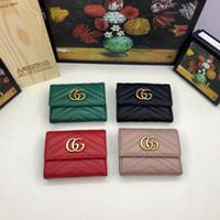 avrupa opsiyonu toptan satış-Kadın cüzdan Avrupa ve Amerikan klasik moda stil çeşitli renk seçenekleri kısa para değişimi kart çanta navlun ücretsiz G046-1