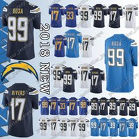 ccd23449c Cheap sales Los Angeles Charger Jersey 33 Derwin James 99 Joey Bosa 17  Philip Rivers Jerseys Adult shirt Top quality