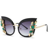 Runde Sonnenbrille Blume Mode Frauen Lady Auge Schutz Sonnen Strand Brillen