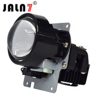 lente del proyector faro led al por mayor-2PCS 72W 9600LM 6000K Hi / Lo Beam White 3.0 pulgadas LED Proyector Lente HeadLight Light para Auto HeadLight